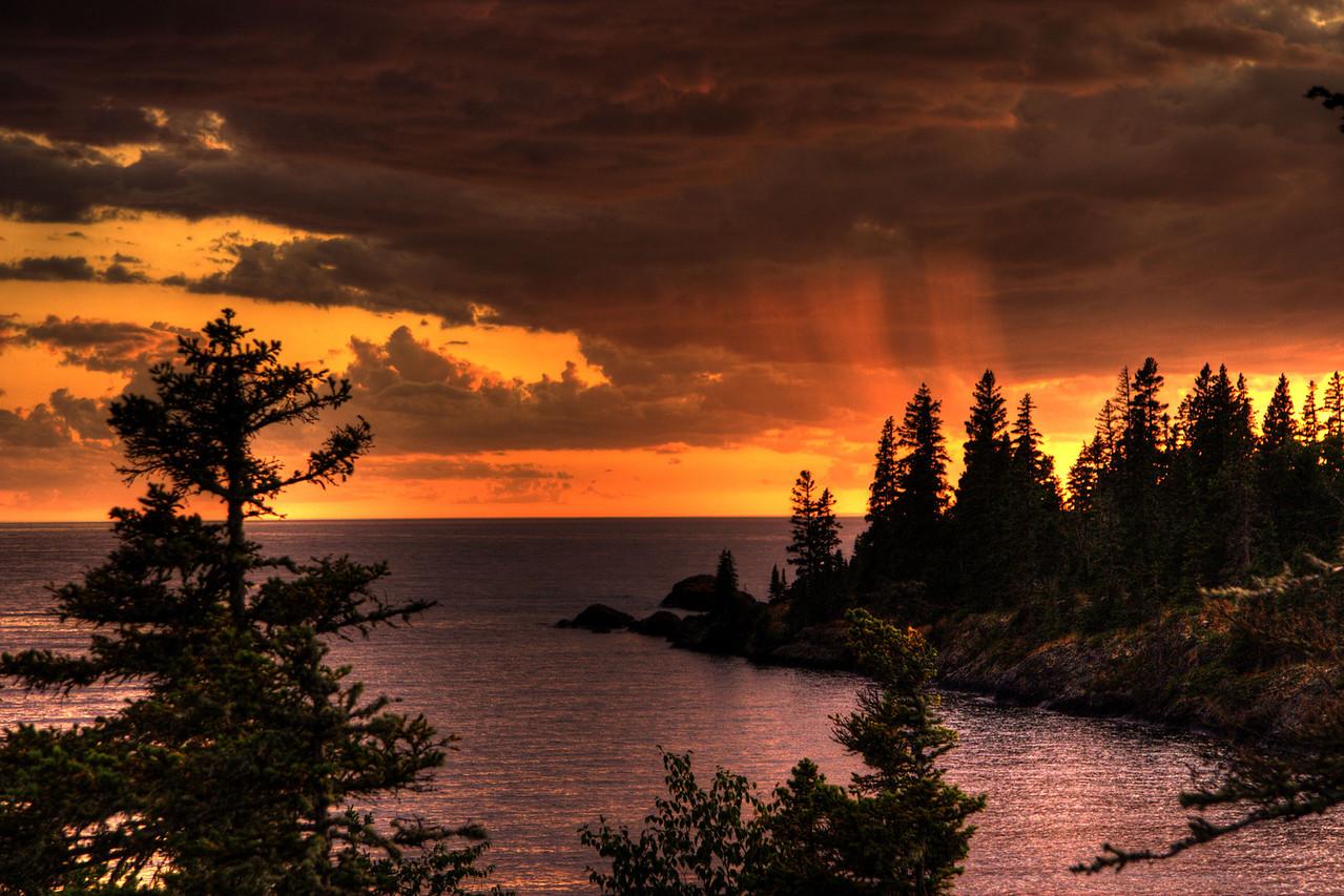 Rain on my sunset