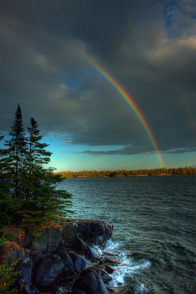 Raspberry Island Rainbow