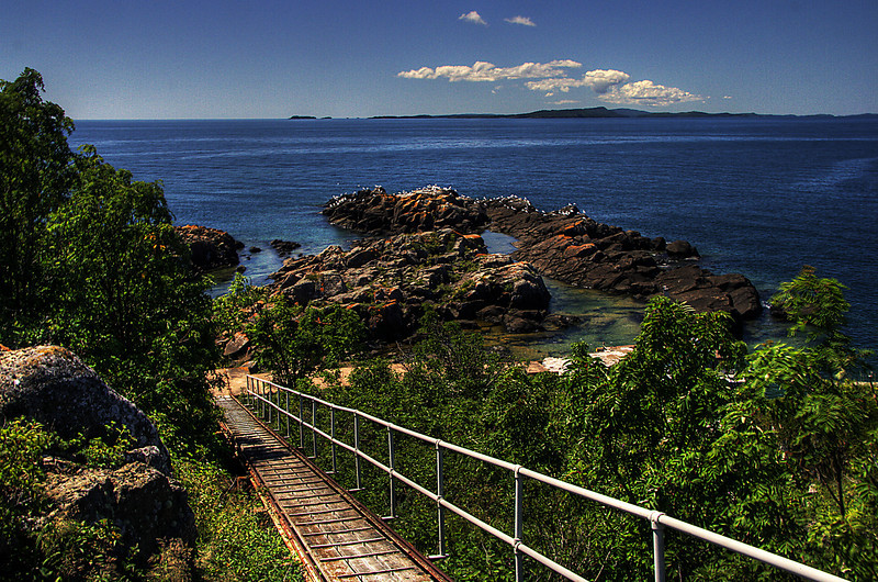 Passage Island Railway
