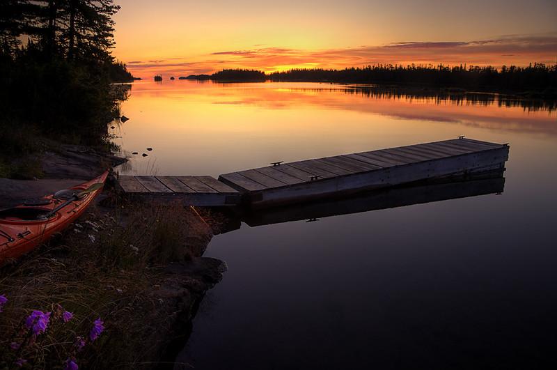 Kimmer Cabin Sunrise