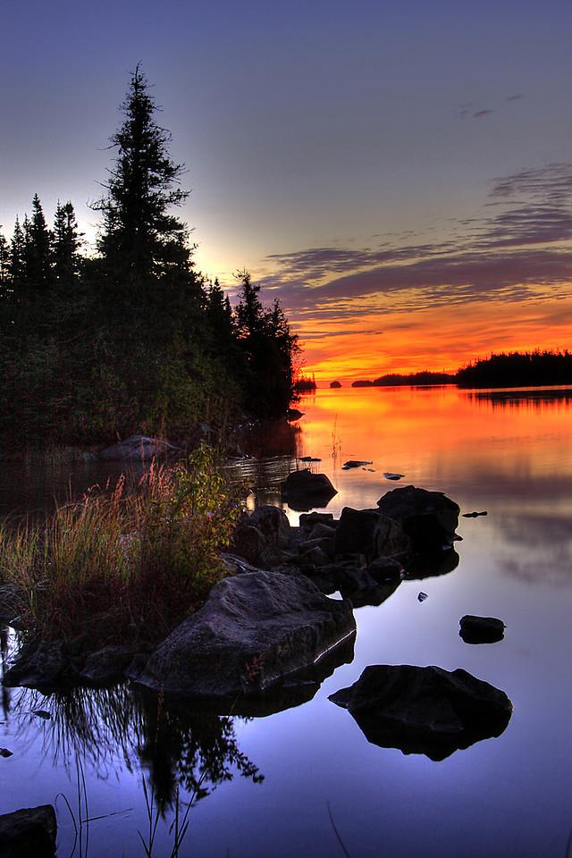 Tobin Harbor Sunrise