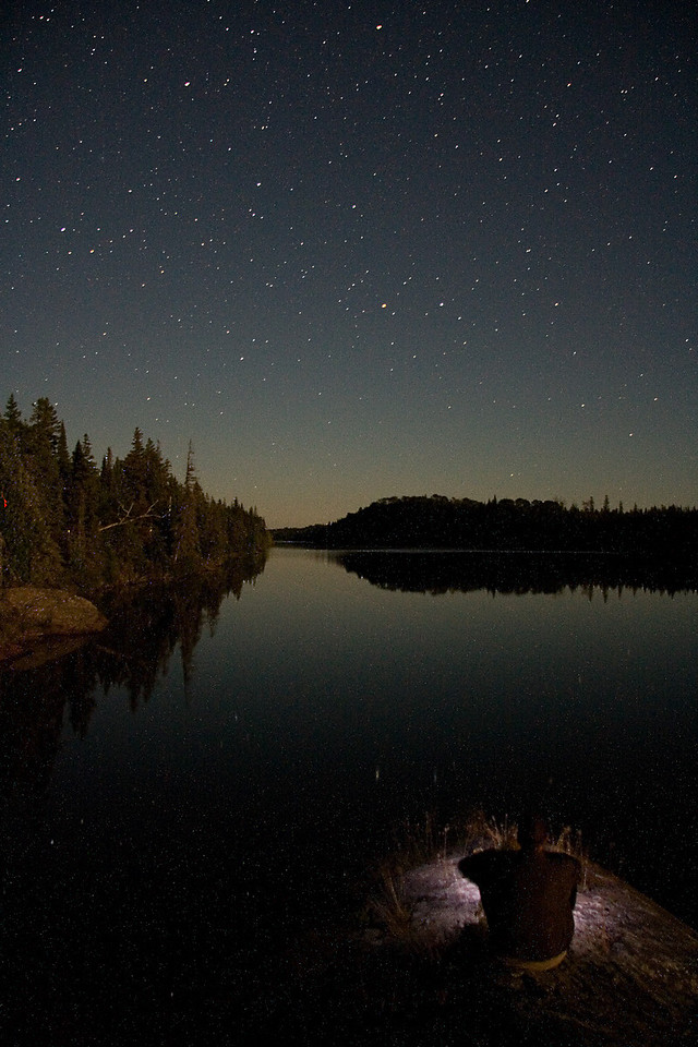 Starry night at Pickerel Cove Campground