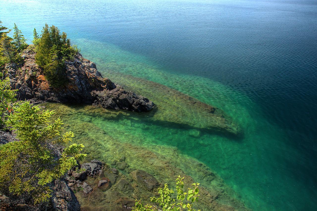 Shoreline Dropoff