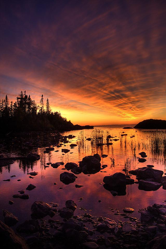 Hawk Island Sunset