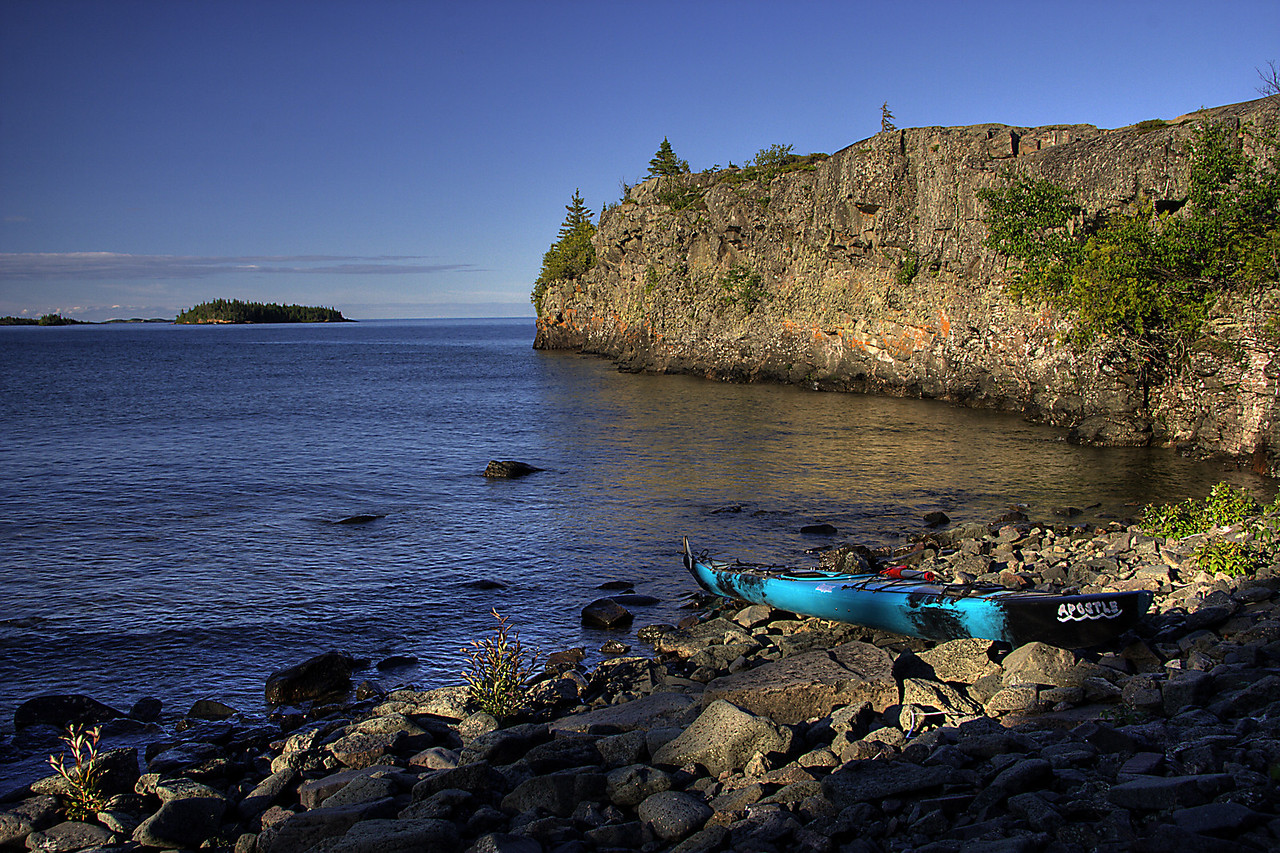 Scoville Point kayak