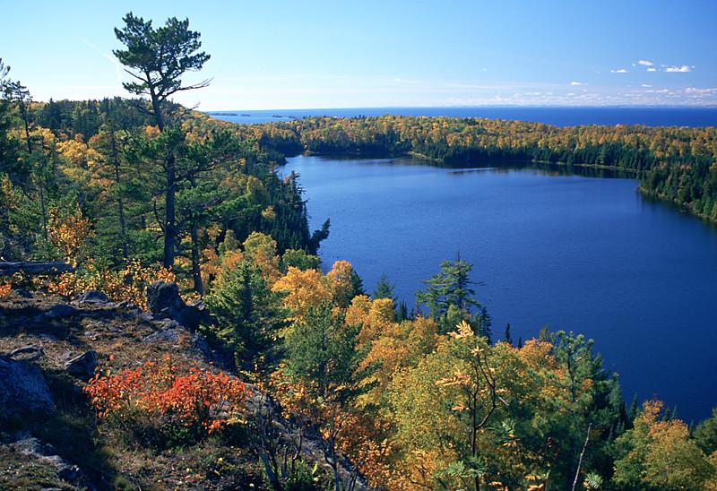 Pine Mountain View of Otter Lake