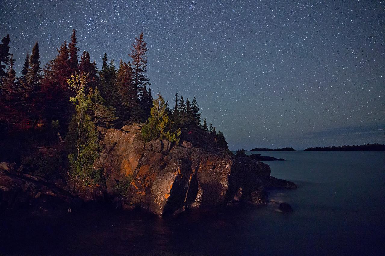 Snug Harbor Point under the Stars