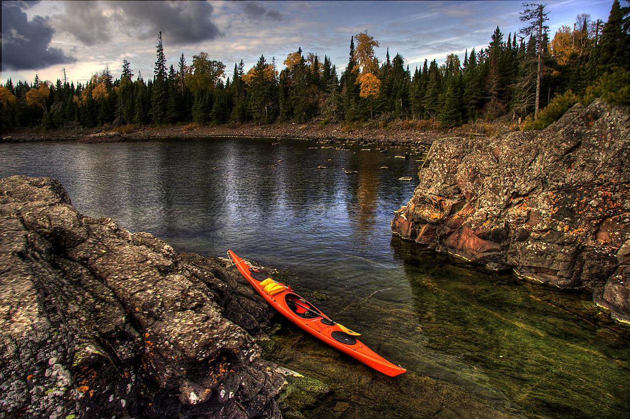 Cariboe Island Fall