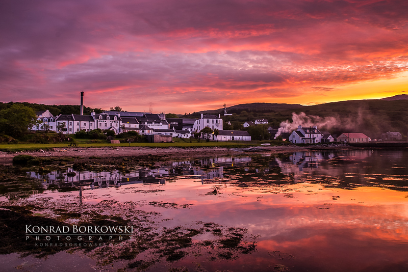 Craighouse Sunset 1