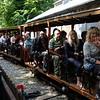 Happy passengers, Groudle Glen Railway