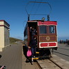 Snaefell Summit arrival.
