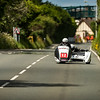 Wayne Lockey & Mark Sayers RealracingF2, 600 Ireson Honda, Isle of Man TT Sidecar 2017 at Nook