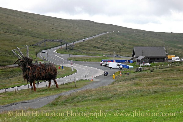 The Loaghtan Sheep Sculpture - Bungalow - Snaefell - Isle of Man - July 2015