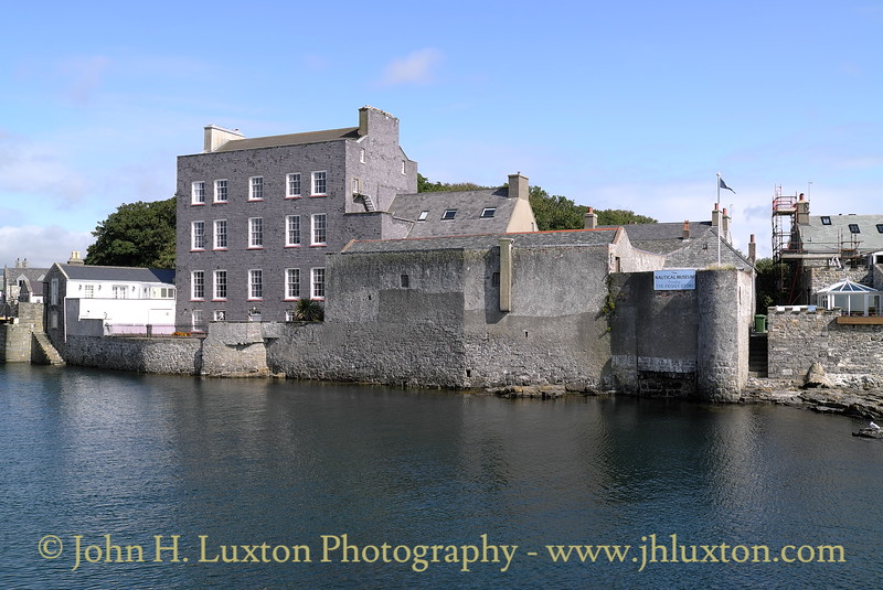 Bridge House and the Maritime Museum, Castletown, Isle of Man, August 19, 2013