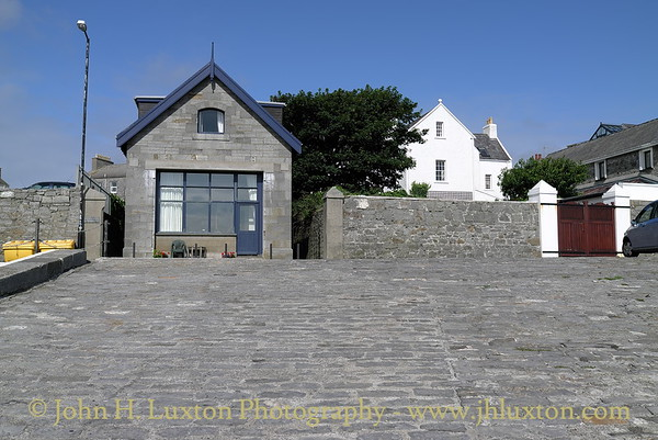 The old lifeboat station, Castletown Harbour, Isle of Man. August 19, 2013.