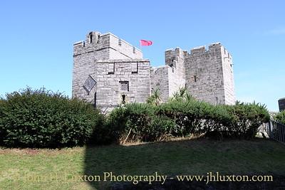 Castle Rushen, Castletown, Isle of Man, August 19, 2013.