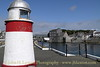 North Pier Lighthouse, Castletown Harbour, Isle of Man. August 19, 2013