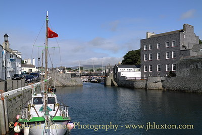 Entrance to Castletown Middle Harbour, Isle of Man, August 19, 2013