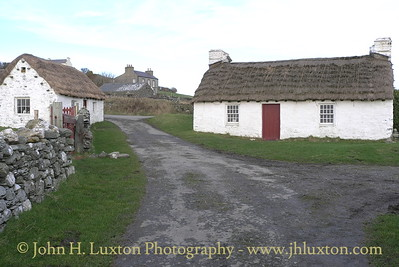 Cregneash: Harry Kelly's Cottage - right. February 16, 2011