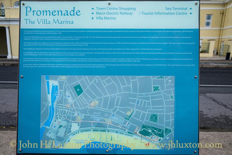 Villa Marina Information - Harris Promenade - Douglas - Isle of Man, July 28, 2019