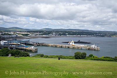 Douglas Harbour, Douglas, Isle of Man - July 02, 2017