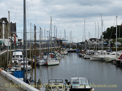 North Quay and Inner Harbour, Douglas, Isle of Man - September 01, 2017