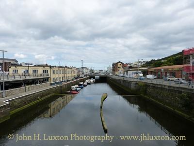 River Douglas, Douglas, Isle of Man - September 01, 2017