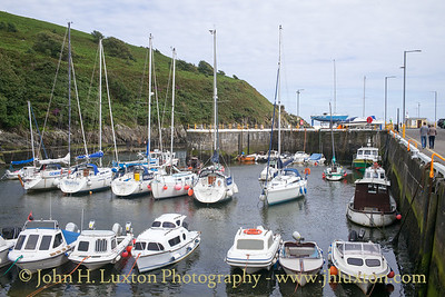 Laxey Harbour, Laxey, Isle of Man - July 31, 2017