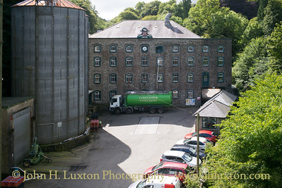 Laxey Flour Mills, Laxey, Isle of Man - July 31, 2017