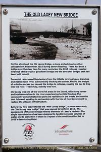 Laxey Bridge, Laxey, Isle of Man - July 31, 2017