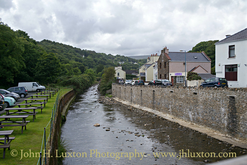 Laxey River, Laxey, Isle of Man - July 31, 2017