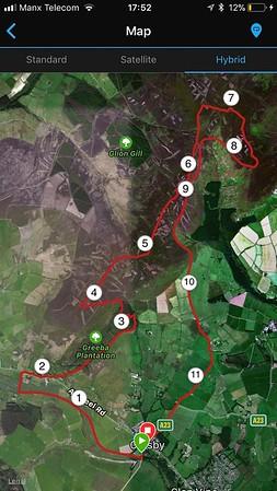 Greeba Mountain Loop - Ben Nevis Training Walk