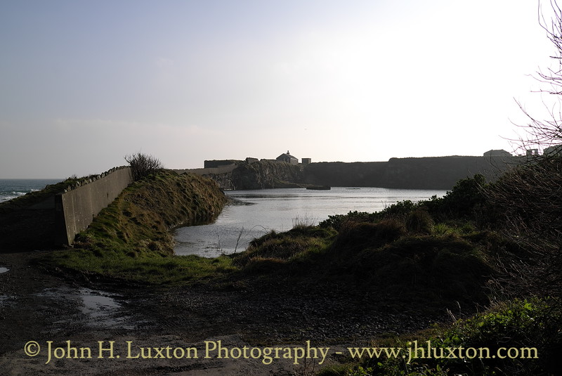 Scarlett Point, Limestone Quarry, Scarlett Point, Castletown, Isle of Man. Photographed: February 18, 2013