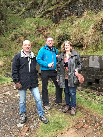 Laxey Mine Walk with Sally & Maurice 2017
