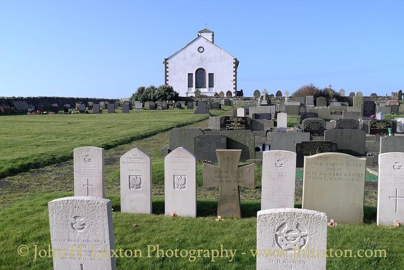 The Church Yard, St. Patrick's Church, Jurby, Isle of Man - February 18, 2013