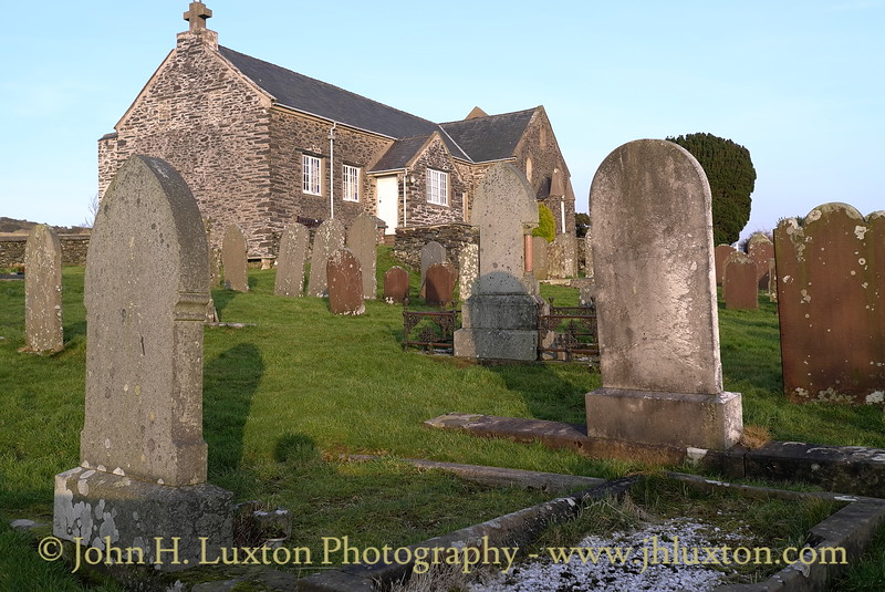 St. Luke's Church, Baldwin, Marown, Isle of Man. February 18, 2013.
