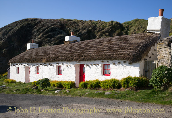 Fishermen's Cottages, Niarbyl, Isle of Man - April 07, 2017