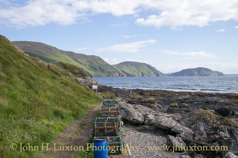 Fishermen's Cottages, Niarbyl, Isle of Man - June 16, 2018