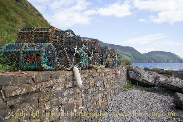 Crab Pots, Niarbyl, Isle of Man - June 16, 2018