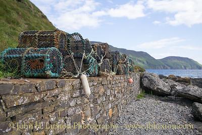 Crab Pots, Niarbyl, Isle of Man - June 16, 2018