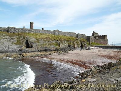 Peel Castle, Peel, Isle of Man - July 29, 2009