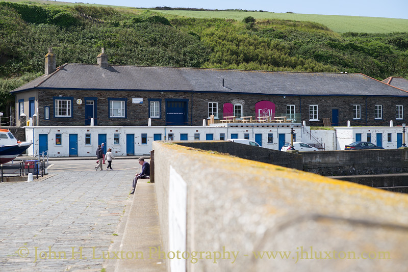 Raglan Pier Lighthouse, Port Erin. Isle of Man - July 02, 2017