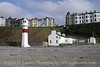 Port Erin Lighthouse & Cosy Nook Café, February 18, 2013