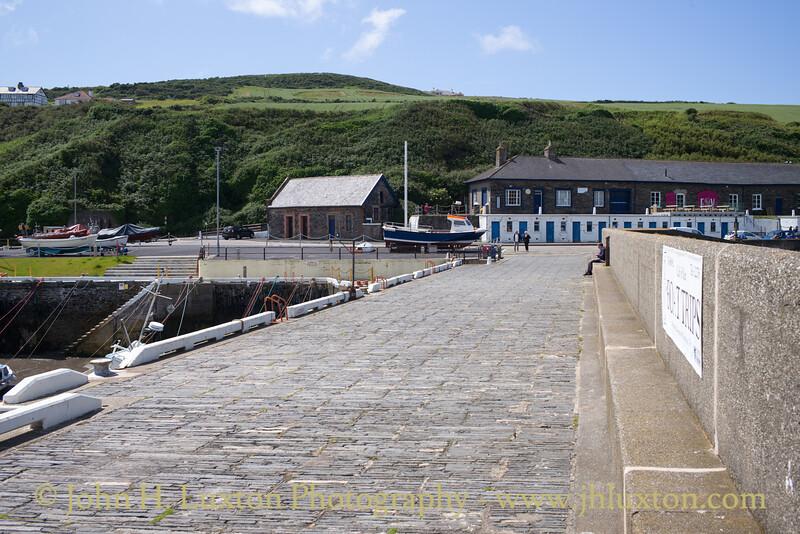 Raglan Pier, Port Erin. Isle of Man - July 02, 2017