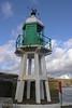 Raglan Pier Lighthouse, Port Erin. Isle of Man - February 14, 2011