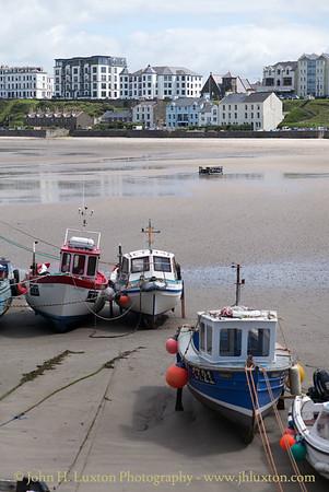 Fishing Boats, Port Erin. Isle of Man - July 02, 2017