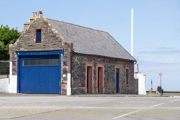 Port Erin Old Lifeboat Station, Port Erin. Isle of Man - July 02, 2017