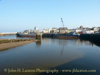 Ramsey Harbour, Ramsey, Isle of Man - February 19, 2013