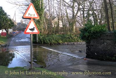 Silverburn River, Balasalla, Isle of Man - February 19, 2013