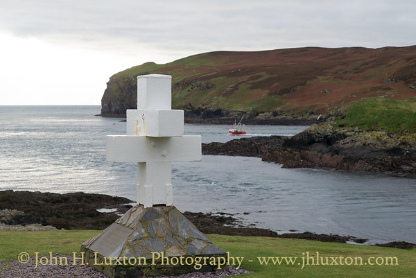 Thousla Cross, Calf Sound, Isle of Man, November 03, 2017